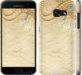 Чехол на Samsung Galaxy A3 (2017) Кружевной орнамент
