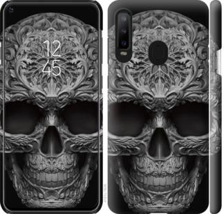 Чехол на Samsung Galaxy A8S skull-ornament