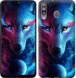 Чехол на Samsung Galaxy M30 Арт-волк