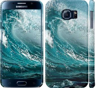 Чехол на Samsung Galaxy S6 G920 Морская волна