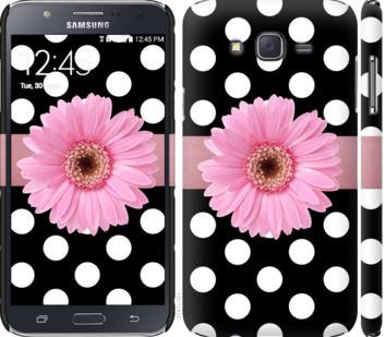Чехол на Samsung Galaxy J7 J700H Горошек 2