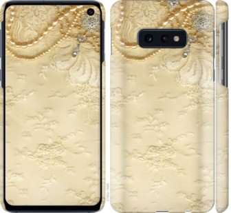 Чехол на Samsung Galaxy S10e Кружевной орнамент