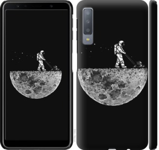 Чехол на Samsung Galaxy A7 (2018) A750F Moon in dark