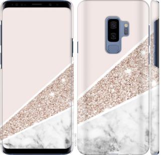 Чехол на Samsung Galaxy S9 Plus Пастельный мрамор