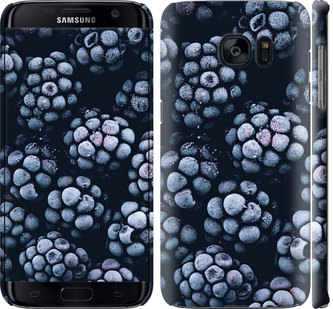 Чехол на Samsung Galaxy S7 Edge G935F Морозная ежевика