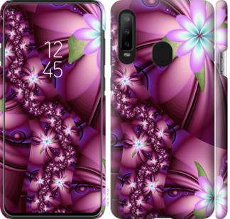 Чехол на Samsung Galaxy A8S Цветочная мозаика