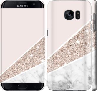 Чехол на Samsung Galaxy S7 Edge G935F Пастельный мрамор