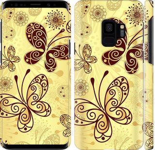 Чехол на Samsung Galaxy S9 Красивые бабочки
