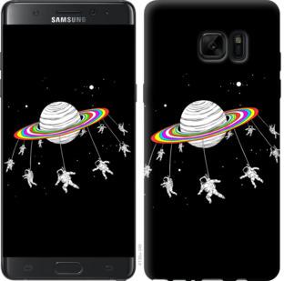 Чехол на Samsung Galaxy Note 7 Duos N930F Лунная карусель