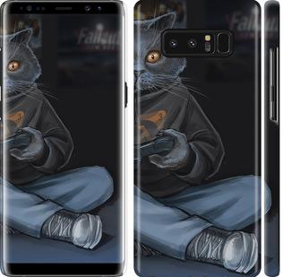 Чехол на Samsung Galaxy Note 8 gamer cat