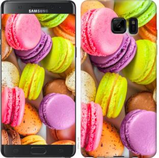 Чехол на Samsung Galaxy Note 7 Duos N930F Макаруны
