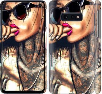 Чехол на Samsung Galaxy S10e Девушка в тату