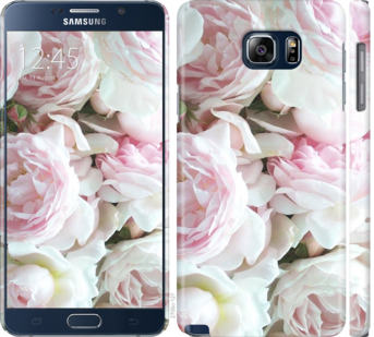 Чехол на Samsung Galaxy Note 5 N920C Пионы v2