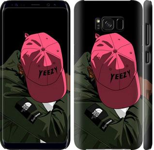Чехол на Samsung Galaxy S8 logo de yeezy