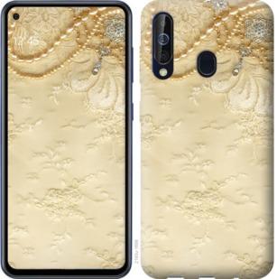 Чехол на Samsung Galaxy A60 2019 A606F Кружевной орнамент