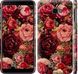 Чехол на Samsung Galaxy J4 Plus 2018 Цветущие розы