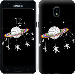 Чехол на Samsung Galaxy J3 2018 Лунная карусель