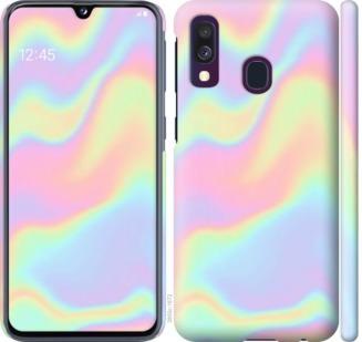 Чехол на Samsung Galaxy A40 2019 A405F пастель