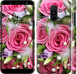 Чехол на Samsung Galaxy A6 Plus 2018 Нежность