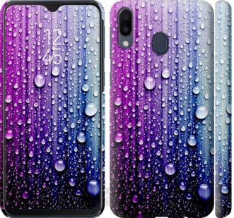 Чехол на Samsung Galaxy M20 Капли воды