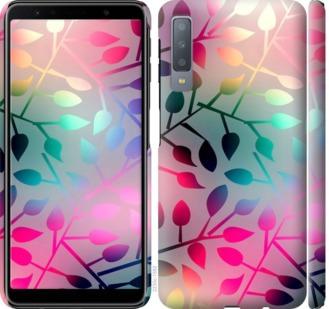 Чехол на Samsung Galaxy A7 (2018) A750F Листья
