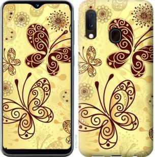 Чехол на Samsung Galaxy A20e A202F Красивые бабочки