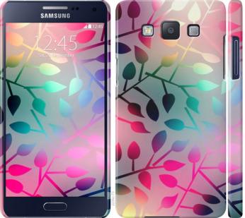 Чехол на Samsung Galaxy A5 A500H Листья