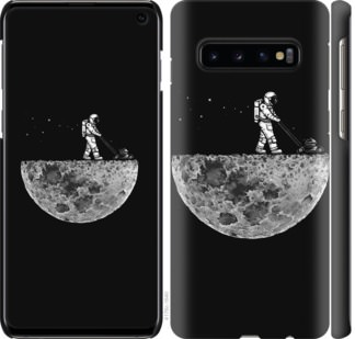 Чехол на Samsung Galaxy S10 Moon in dark