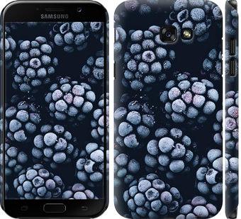 Чехол на Samsung Galaxy A7 (2017) Морозная ежевика