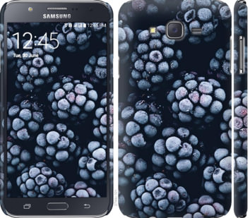 Чехол на Samsung Galaxy J7 J700H Морозная ежевика