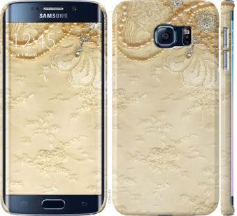 Чехол на Samsung Galaxy S6 Edge G925F Кружевной орнамент