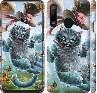 Чехол на Samsung Galaxy A8S Чеширский кот 2