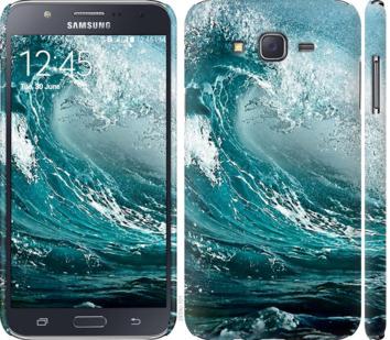 Чехол на Samsung Galaxy J7 J700H Морская волна