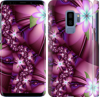 Чехол на Samsung Galaxy S9 Plus Цветочная мозаика
