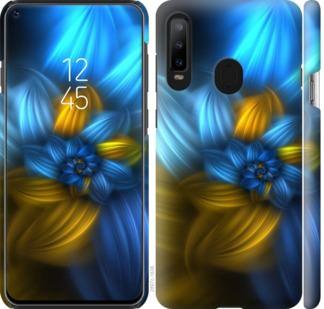 Чехол на Samsung Galaxy A8S Узор 46