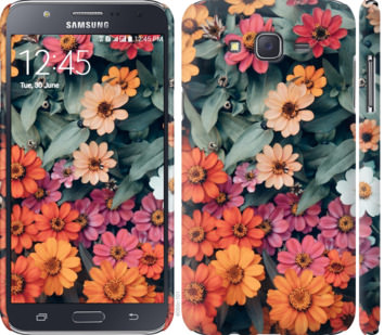 Чехол на Samsung Galaxy J7 J700H Beauty flowers