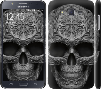 Чехол на Samsung Galaxy J7 J700H skull-ornament
