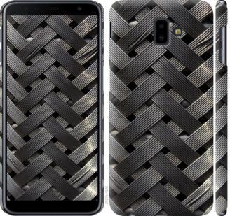 Чехол на Samsung Galaxy J6 Plus 2018 Металлические фоны