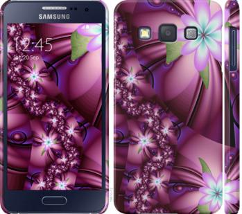 Чехол на Samsung Galaxy A3 A300H Цветочная мозаика