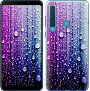 Чехол на Samsung Galaxy A9 (2018) Капли воды