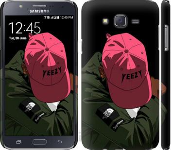 Чехол на Samsung Galaxy J7 J700H logo de yeezy