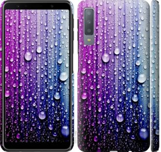 Чехол на Samsung Galaxy A7 (2018) A750F Капли воды