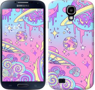 Чехол на Samsung Galaxy S4 i9500 Розовая галактика