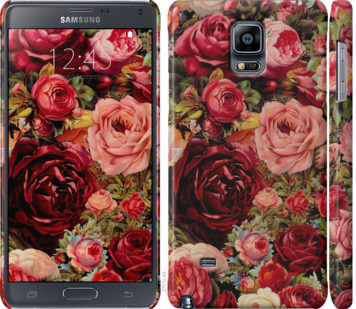 Чехол на Samsung Galaxy Note 4 N910H Цветущие розы