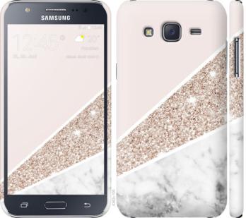 Чехол на Samsung Galaxy J5 (2015) J500H Пастельный мрамор