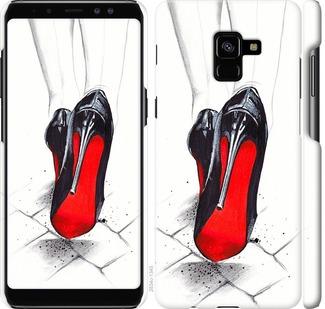 Чехол на Samsung Galaxy A8 Plus 2018 A730F Devil Wears Louboutin