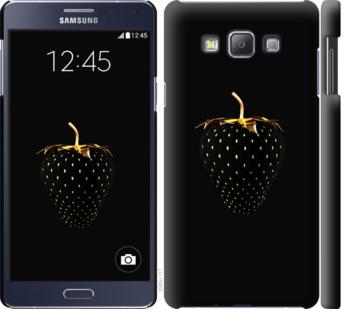 Чехол на Samsung Galaxy A7 A700H Черная клубника