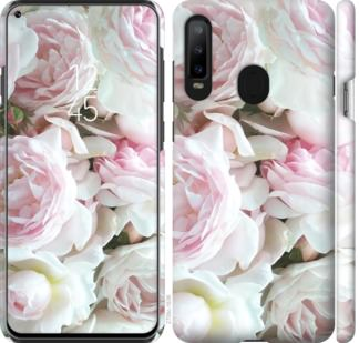 Чехол на Samsung Galaxy A8S Пионы v2