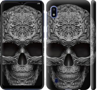 Чехол на Samsung Galaxy A10 2019 A105F skull-ornament