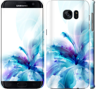 Чехол на Samsung Galaxy S7 Edge G935F цветок